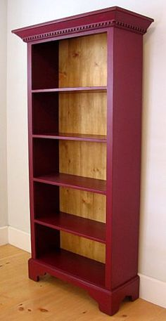 Classic Tall Bookcase - back in red cedar Furniture, Repurposed Furniture, Bookcase, Bookcase Diy, Furniture Projects, Home Furniture, Redo Furniture, Bookshelves Diy, Refinishing Furniture