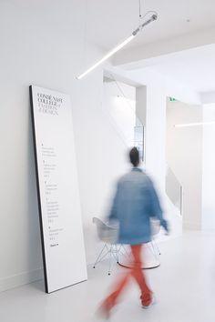 Together Design: Condé Nast College of Fashion & Design in Signage / Wayfinding / Enviroment Design
