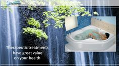 Install therapeutic baths in your bathroom, it is good for your health. Buy best quality of #therapybaths from us, the Crystal Bathroom.