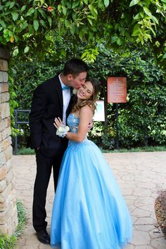 """Absolutely loved my one of a kinda Mac Duggal ball gown!!""- Lauren Huseman who chose Mac Duggal for her 2016 #promdress"
