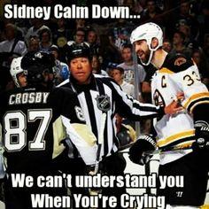 Pittsburgh Penguins memes If you're a hockey lover, check out this hockey … - About Baby Hockey Rules, Flyers Hockey, Boston Bruins Hockey, Blackhawks Hockey, Hockey Mom, Hockey Teams, Hockey Players, Ice Hockey, Hockey Stuff