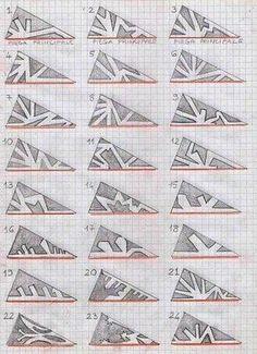 Schneeflocken aus Papier basteln- Anleitung-dekoking-com-8
