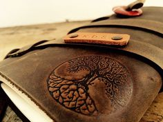 Tree of Life // Branded Leather Journal