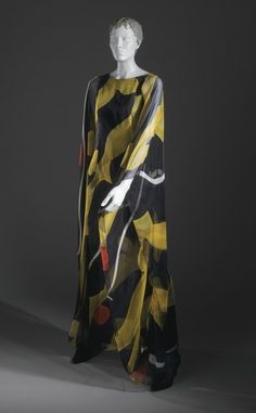 Evening Caftan - Jean Louis, 1967 - The Los Angeles County Museum of Art