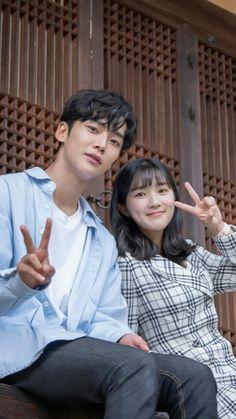 High School Romance, W Two Worlds, Weightlifting Fairy Kim Bok Joo, Ulzzang Couple, Drama Movies, Korean Actors, Korean Drama, Cute Couples, Couple Goals