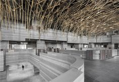 The HUB Performance and Exhibition Center | Neri&Hu Design and Research Office; Photo: Dirk Weiblen | Archinect