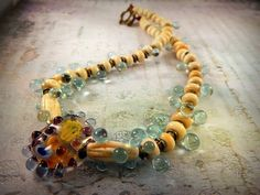 After The Rain by Praguebeads on Etsy