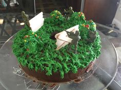 When your son gets too old for superheroes, but you're still crazy enough to make his cakes- theme: Fortnite