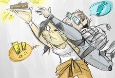 Behold, CAKE! by Loeobot.deviantart.com on @DeviantArt