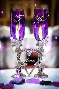 I love you my beautiful Angel I love you Love You Gif, Love You Images, Love Pictures, My Love, Purple Love, All Things Purple, Purple Cross, Beau Gif, Glitter Graphics