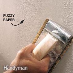 Drywall Sanding Tips and Techniques Home Improvement Loans, Home Improvement Projects, Sanding Tips, Drywall Repair, Home Repairs, Laminate Flooring, Home Remodeling, Bathroom Remodeling, Bathroom Ideas