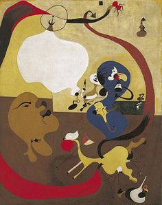 Collection Online | Joan Miró. Dutch Interior II (Intérieur hollandais). summer 1928 - Guggenheim Museum