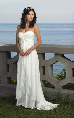 Simple Country Wedding Dresses | ... and images gallery related to Romantic Simple Beach Wedding Dresses