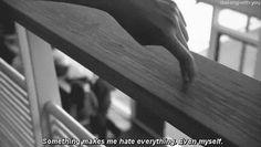 Even myself.