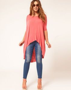 Discover the latest fashion trends with ASOS. Shop the new collection of clothing, footwear, accessories, beauty products and more. Order today from ASOS. Casual Outfits, Cute Outfits, Fashion Outfits, Curvy Fashion, Plus Size Fashion, Young Fashion, Blouses For Women, T Shirts For Women, Mode Jeans