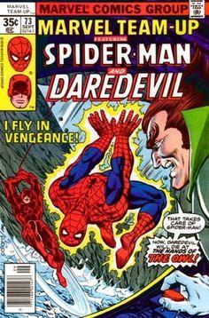 Marvel Team-Up #73  Featuring Spider-Man and Daredevil  Marvel Comics Group  September 1978  $.35