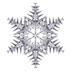 airplane snowflake