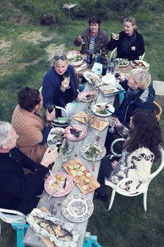Kinfolk Workshop: Butcher Block Party Kinfolk / Vatnsnes Iceland, partners Home and Delicious, photos Gunnar Sverrisson...