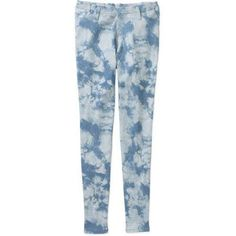 Faded Glory Women's Full Length Knit Color Jegging, Size: Medium, Blue