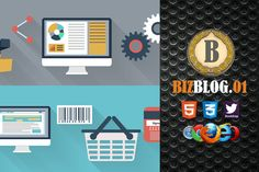 Biz Blog 01 Premium HTML5 Template by bizgenz on @creativework247