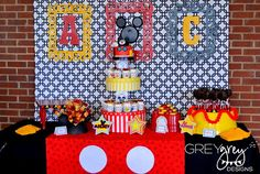 GreyGrey Designs: Addie Claire's Mickey Mouse Clubhouse 2nd Birthday