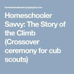 Unique Cub Scout Crossover Ceremony Script
