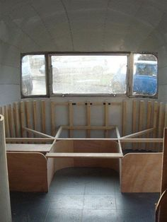 airstream interior | ... as airstream bespoke woodwork interior minimalist airstream workshop