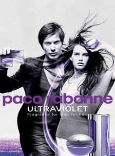 Paco Rabanne Ultraviolet  Perfume Ad