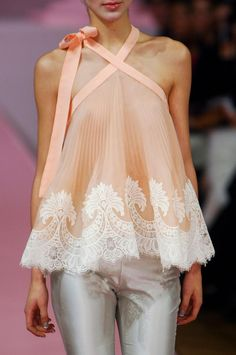 cool chic style fashion: Alexis Mabille Haute Couture Spring 2013 + details