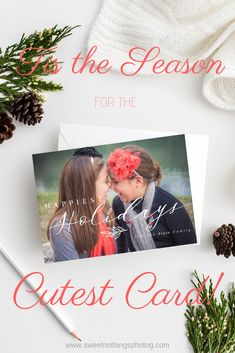 The Woodlands, TX, Portrait Photographer | Sweet Nothings Photography | Suzanne Barnes  The holidays are right around the corner, and it's time to pick out your Christmas Cards!  There are some GORGEOUS designs to choose...
