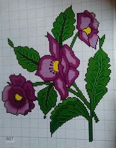 1 million+ Stunning Free Images to Use Anywhere Cross Stitch Animals, Cross Stitch Flowers, Cross Stitch Designs, Cross Stitch Patterns, Flower Coloring Pages, Crochet Borders, Bead Loom Patterns, Loom Beading, Cross Stitch Embroidery