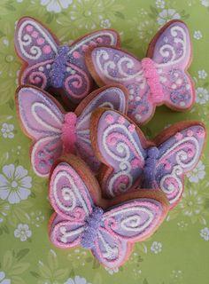 Butterflies  Butterfly Cookies