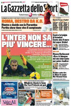 La Gazzetta dello Sport (09-12-13) Italian | True PDF | 40 32 pages | 15,26 12,73 Mb