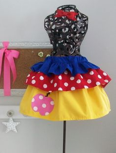 cute snow white dress up skirt