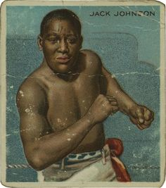 1946 Jack Johnson dies in auto accident at age 68 Jack Johnson Boxer, Boxing History, Boxing Champions, Combat Sport, Sport Icon, Sports Figures, Football Cards, Vintage Cards, Black History