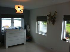 Project Loosdrecht. Raamdecoratie babykamer.