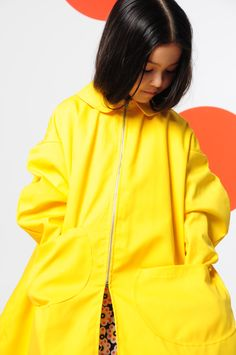 BOdeBO Kidsfashion WINTER 14/15 yellow coat