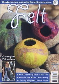 Tutorials and Ideas for Working with Felt - wet, needle, etc - great site!!!!!