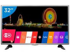 "Smart TV LED 32"" LG 32LH570B Conversor Digital - Wi-Fi 2 HDMI 1 USB de R$ 1.649,00 por R$ 1.259,00   em até 10x de R$ 125,90 sem juros no cartão de crédito  ou R$ 1.196,05 à vista"