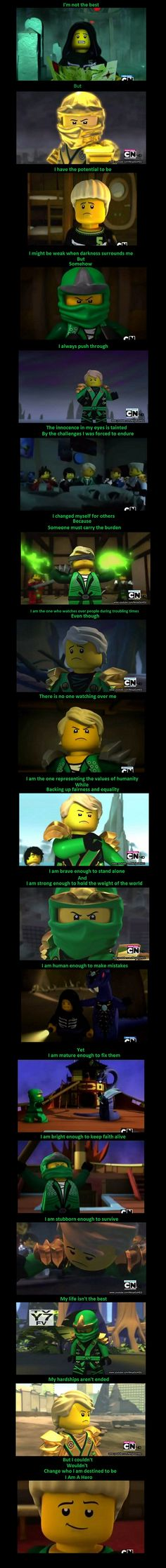 Sweet little Lloyd Montgomery Garmadon, Green Ninja, Ultimate Spinjitzu Master. (That is his official title.)