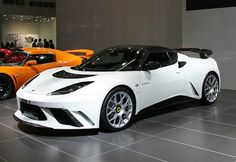 Lotus Evora GTE is the most powerful road-going car ever produced by Lotus Cars. It's got roughly 440bhp, can hit 62mph in a faintly alarmin...