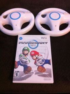 Mario Kart Wii (Nintendo Wii, 2008) Game Bundle With 2 Steering Wheels: $40.00 End Date: Friday Mar-23-2018 7:42:56 PDT Buy It Now for…
