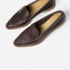 Pin for Later: 24 Flats That Will Elevate Your Summer Shoe Game  Everlane The Modern Loafer ($170)