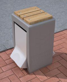 Urban Furniture   Concrete Saddle