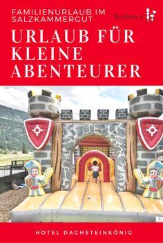 Königlicher Familienurlaub im Hotel Dachsteinkönig im Salzkammergut, Oberösterreich, Österreich. Hier kommen Kinder und Eltern nicht zu kurz. Von Spielen bis Wandern ist alles dabei. Alle Abenteuer könnt ihr am Blog nachlesen.