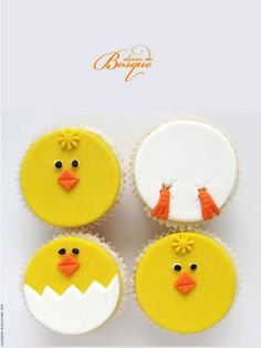 Cupcakes Páscoa • Easter Cupcakes | Doces do Bosque