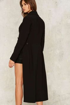 Nasty Gal On My Tail Asymmetric Blazer - Clothes | Blazers + Capes | Jackets + Coats