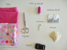 materiales hot pack pelvico Tutorial, Hot, Simple, Cotton Canvas, Turbans, Bed Covers, Grief
