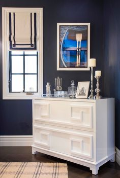 Lee Caroline - A World of Inspiration: Behind the Black Door Beach Furniture, Vintage Furniture, Window Coverings, Window Treatments, Trellis Wallpaper, Living Room Mirrors, Black Doors, Style Tile, Kitchen Styling