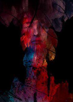 Daniela Gorla Digital Art Omaggio alle Donne - contro la violenza